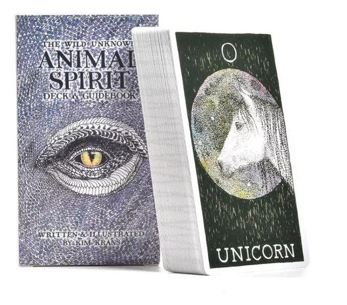 Animal Spirit - Só As Cartas Não Livro + Um Lindo Prersente