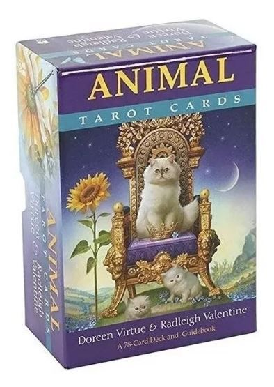 Animal Tarot Cards : A 78-card Deck And Guidebook+presente