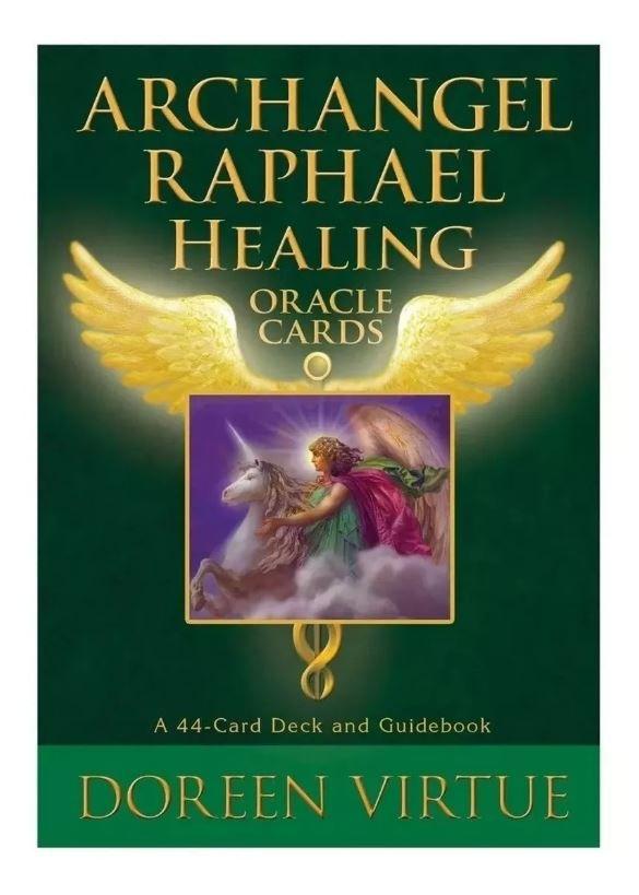 Archangel Raphael Healing Oracle Cards + Presente