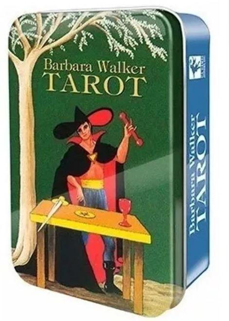 Barbara Walker Tarot In A Tin + Um Lindo Presente Para Você