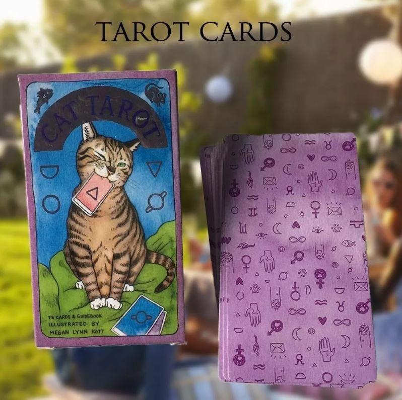 Cat Tarot Só As Cartas Não Livro + Um Presente Para Você