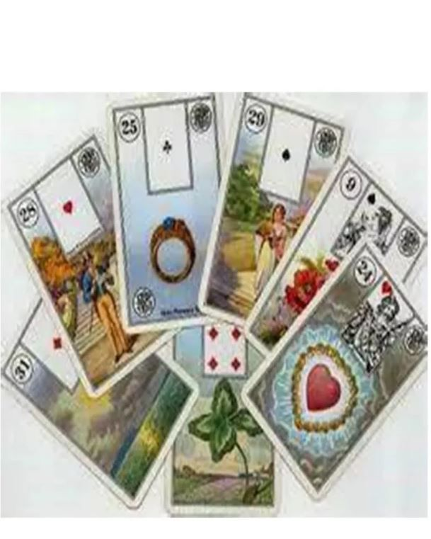 Jogo De Cartas De Tarô De Ouro Inglês Completo + Presente