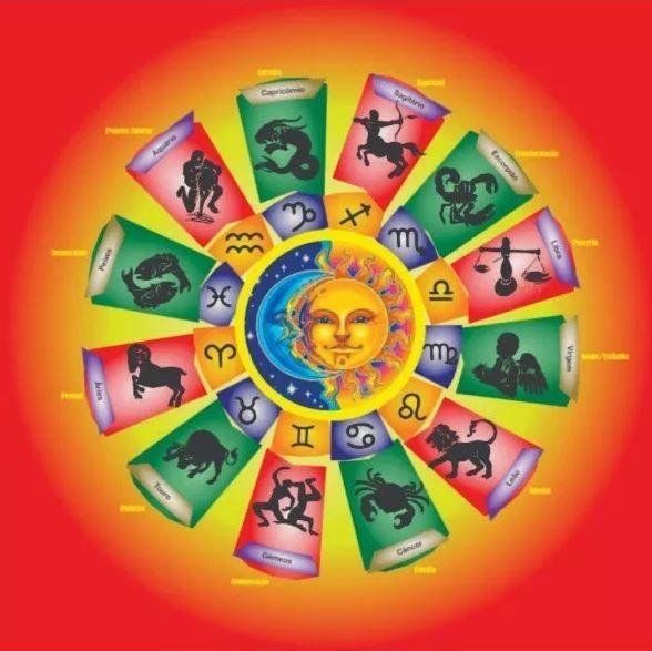 Mandala Astrologica Em Veludo + Presente