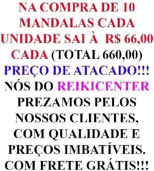 Mandala Cigana Em Veludo + Presente