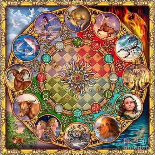 Mandala Zodiaco Em Veludo + Um Presente Lindíssimo