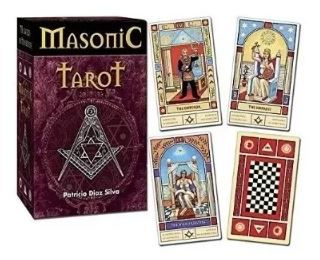 Masonic Tarot - 78 Cards With Book - Silva, Patricio Diaz.