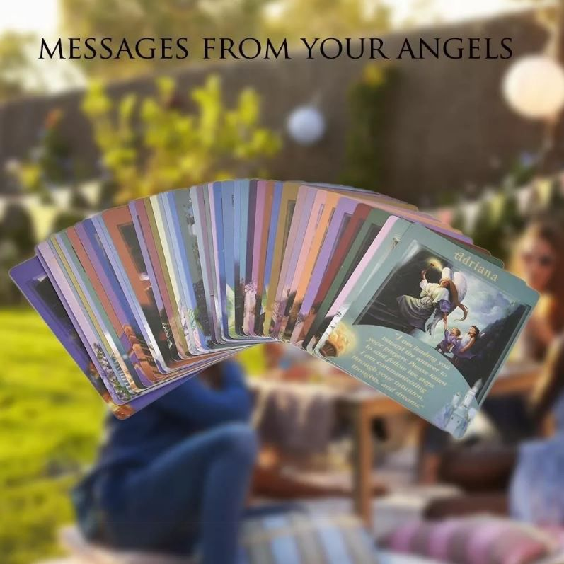 Messages From Your Angels Oracle Cards Só As Cartas Não Livr