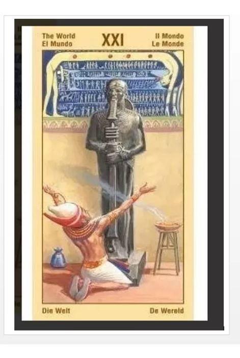 Ramses Tarot Of Eternity + Um Lindo Presente Para Você