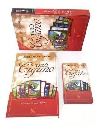 Tarô Cigano Livro E Baralho Com 36 Cartas Ciganas