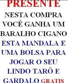 Tarô De Belline (versão Original Em Português) + Presente