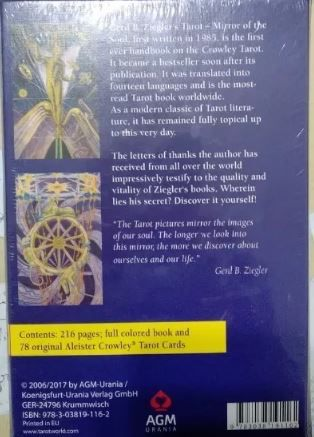 Tarot Mirror Of The Soul Handbook For The Aleister Crowle +