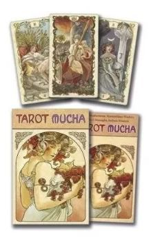 Tarot Mucha: 78 Card Só As Cartas + Um Lindísssimo Presente