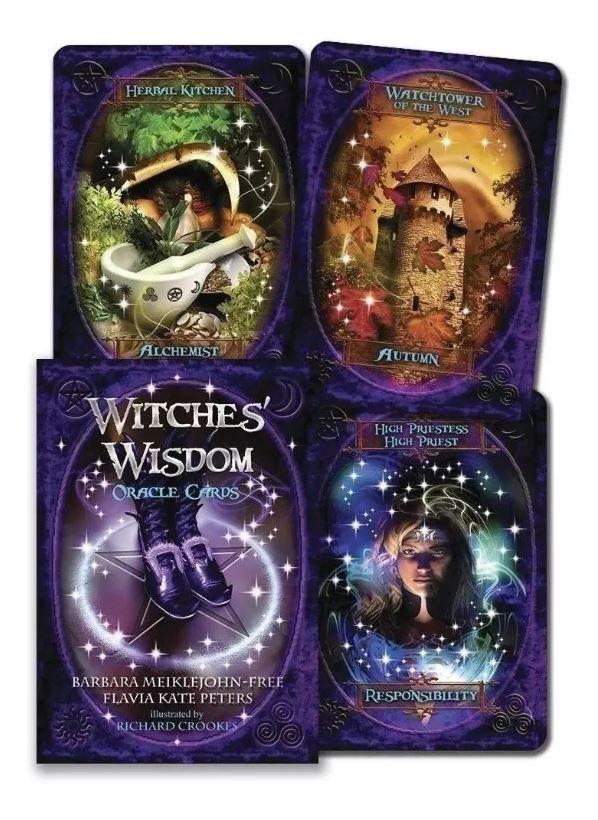 Witches' Wisdom Oracle Cards - Só As Cartas -não Tem Livreto