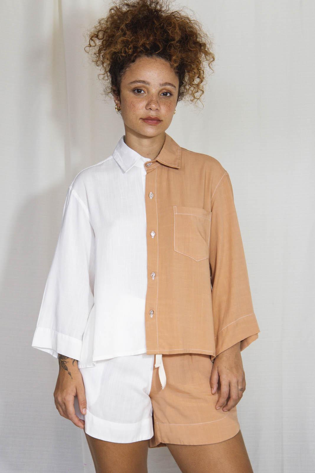 Camisa Duo 3/4