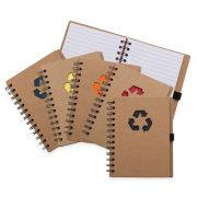 Bloco de anotação ecológico personalizado (MINIMO 30 PEÇAS)