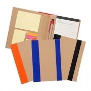 Bloco de anotações ecológico com caneta personalizado (MINIMO 30 PEÇAS)