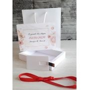 Kit pen card + Caixa só para foto 10 x 15cm + Sacola 15,5 x 18cm personalizados (MINIMO 5 PEÇAS)