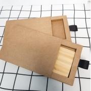 Kit pen card ecológico + Caixinha offset branca ou kraft pardo personalizados (MINIMO 5 PEÇAS)