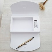 Kit pen drive + caixa foto personalizados (MINIMO 5 PEÇAS)