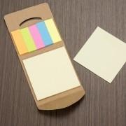 Mini bloco de anotações ecológico personalizado (MINIMO 30 PEÇAS)