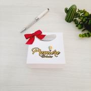 Sacola para joias 10x10x5cm papel 180grs personalizada (MINIMO 30 PEÇAS)