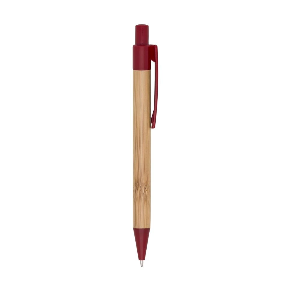 Caneta bambu personalizada (MINIMO 50 PEÇAS)   - Premiere Brindes