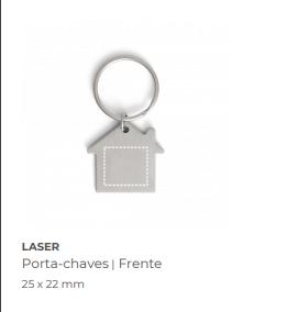 Chaveiro personalizado formato casa  - Premiere Brindes