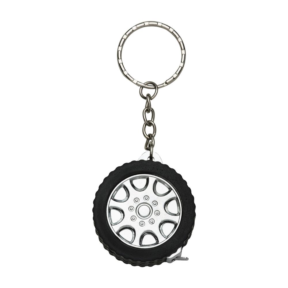 Chaveiro pneu trena 1 Metro personalizada (MINIMO 30 PEÇAS)  - Premiere Brindes