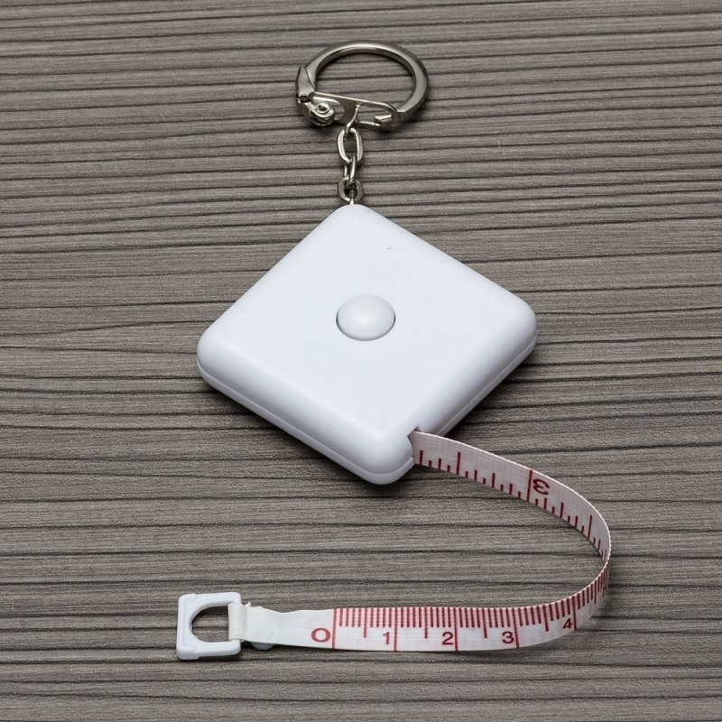 Fita métrica plástica de 1 metro personalizada (MINIMO 30 PEÇAS)  - Premiere Brindes