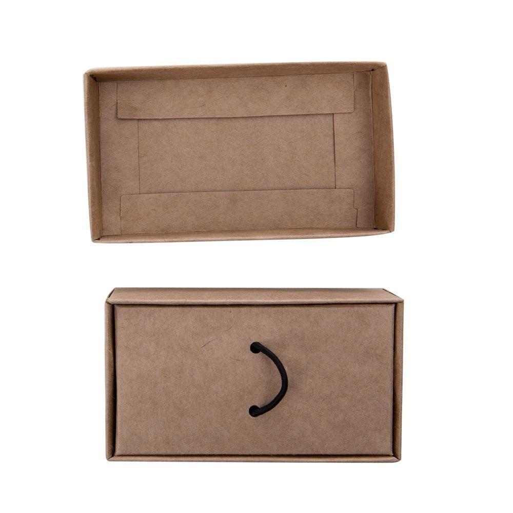 Kit pen drive ecológico oval + embalagem de kraft (MINIMO 5 PEÇAS)  - Premiere Brindes
