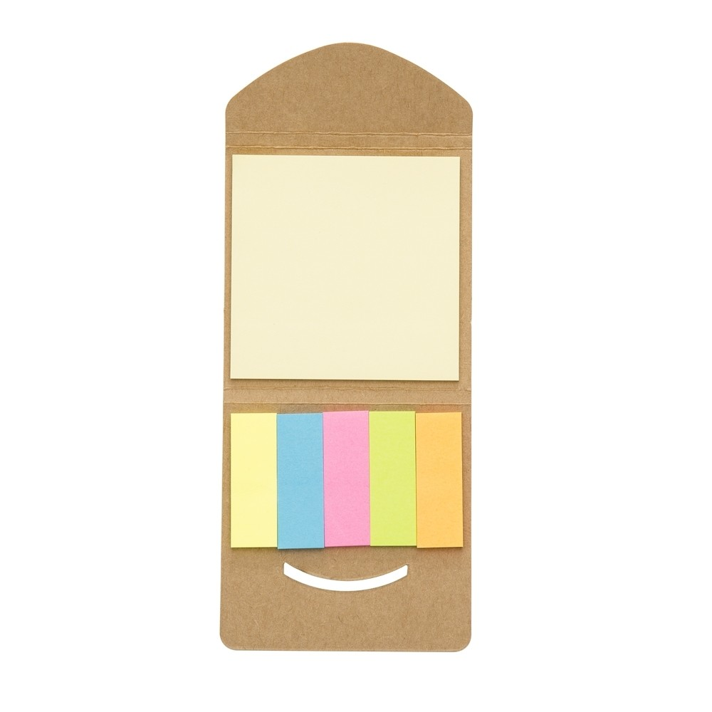 Mini bloco de anotações ecológico personalizado (MINIMO 30 PEÇAS)  - Premiere Brindes