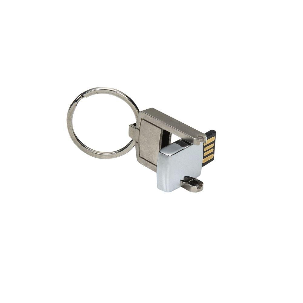 Mini Pen Drive chaveiro Giratório personalizado (MINIMO 10 PEÇAS)  - Premiere Brindes