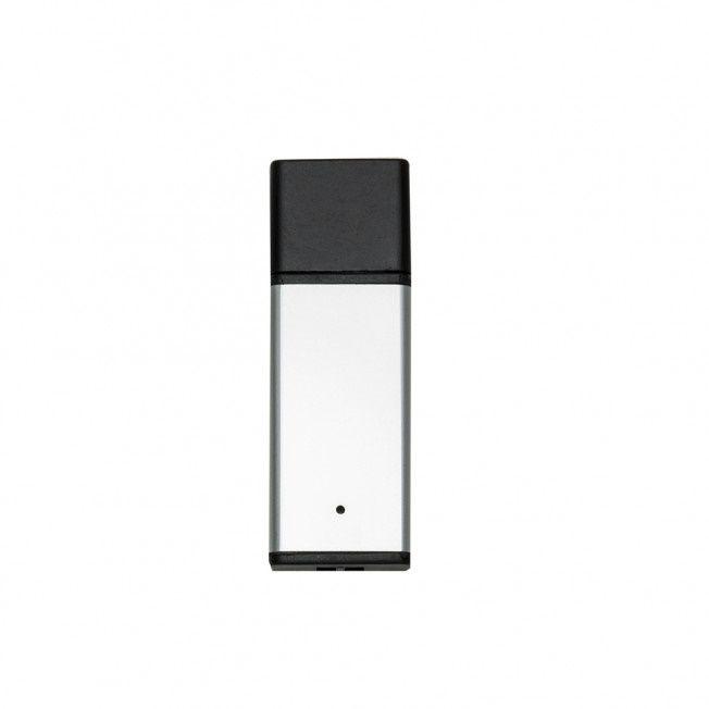 Pen drive retangular de alumínio personalizado (MINIMO 5 PEÇAS)  - Premiere Brindes