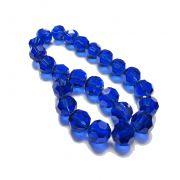 Azul Royal Transparente Redondo (14 mm)