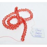 Cherry Cereja Transparente Achatado