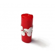 Especial Firma 208 - Murano Strass Vermelho/Branco (G)