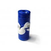Especial Firma 209 - Murano Strass Azul Royal/Branco (G)