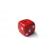 Firma 165 - Murano Dado Vermelho/Branco (G)