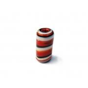 Firma 198 - Murano Vermelho/Branco/Preto (M)