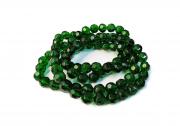 Verde Escuro Transparente Redondo (12 mm)
