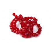 Vermelho Escuro Transparente (08 mm)