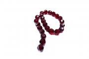Vermelho Transparente Redondo (14 mm)