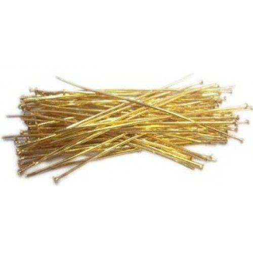 Alfinete Dourado 5 cm – 25 gramas