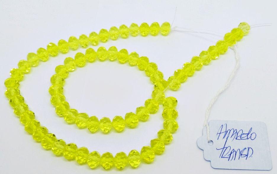 Amarelo Transparente Achatado