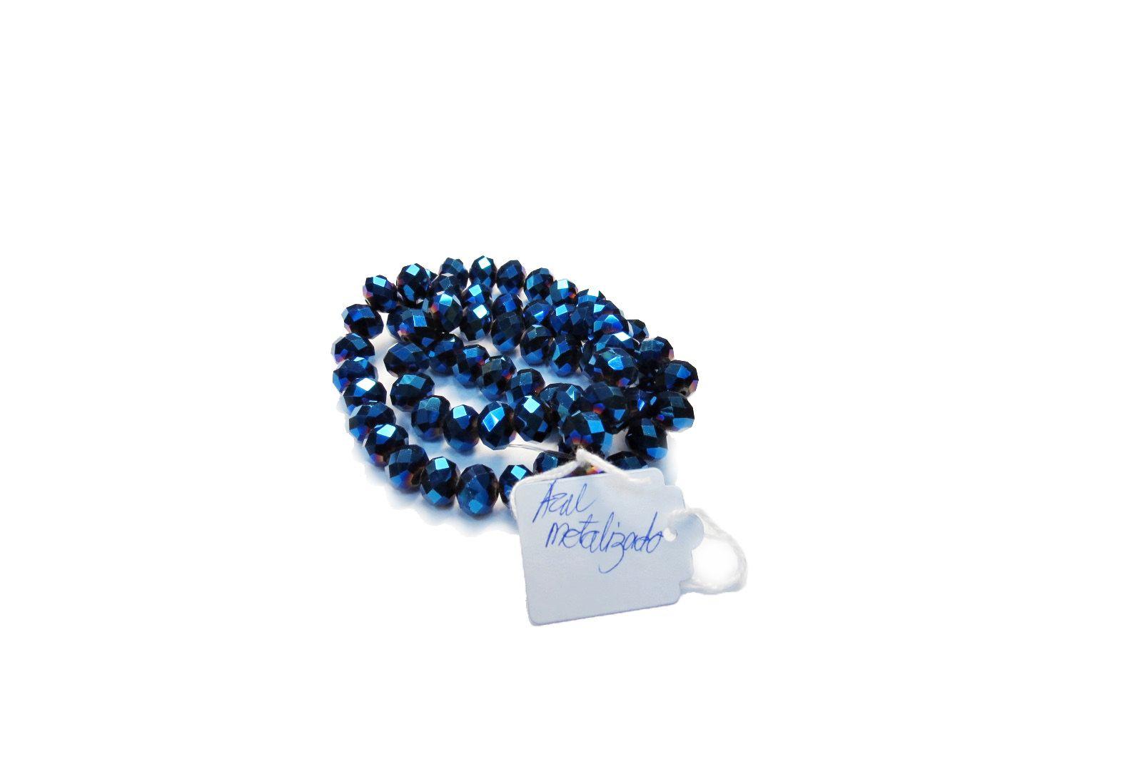 Azul Metalizado Achatado