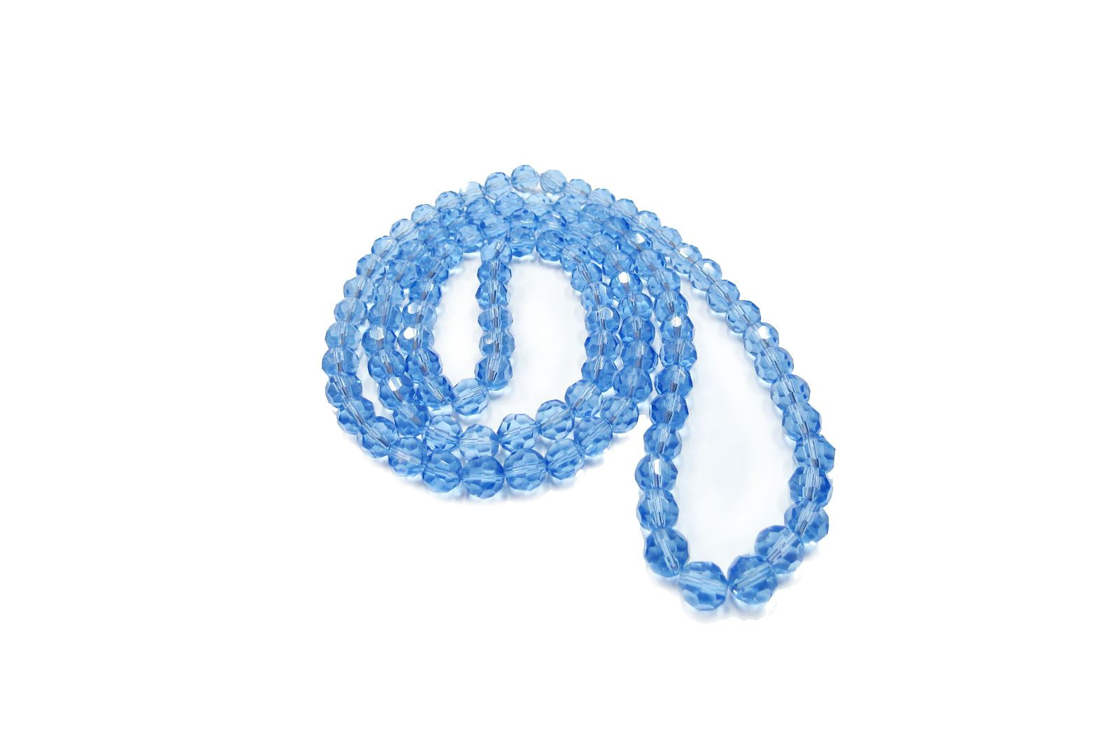 Azul Transparente Redondo (10 mm)