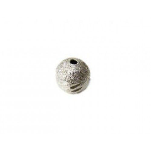 Conta Metal Fosca 8 mm 007 – Unidade