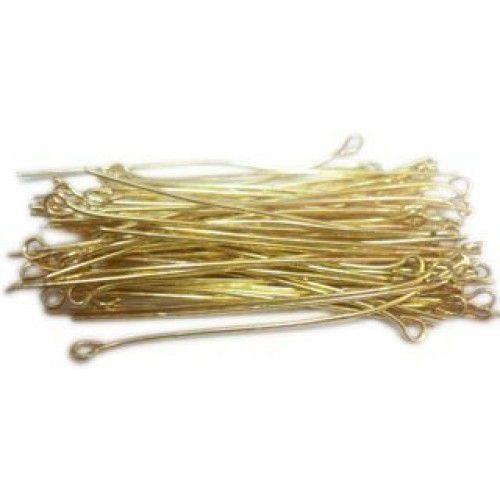 Contra pino Dourado 3 cm – 25 Gramas