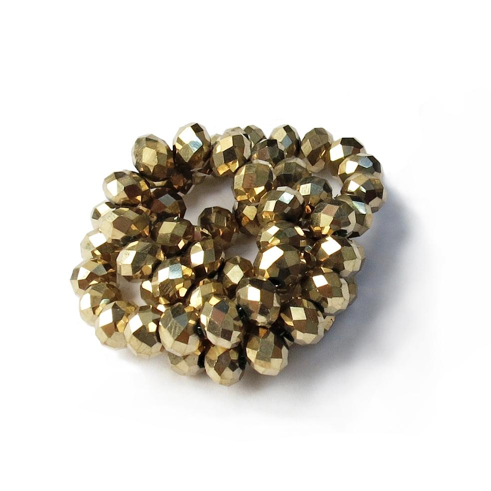 Dourado Achatado (08 mm)
