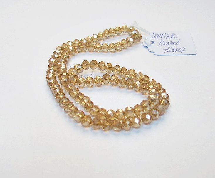 Dourado Boreal Transparente Achatado (06 mm)